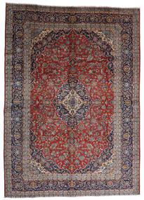 Keshan Χαλι 287X403 Ανατολής Χειροποιητο Σκούρο Κόκκινο/Σκούρο Καφέ Μεγαλα (Μαλλί, Περσικά/Ιρανικά)