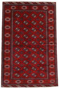 Turkaman Χαλι 194X293 Ανατολής Χειροποιητο Σκούρο Κόκκινο/Στο Χρώμα Της Σκουριάς (Μαλλί, Περσικά/Ιρανικά)