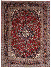 Keshan Χαλι 294X400 Ανατολής Χειροποιητο Σκούρο Κόκκινο Μεγαλα (Μαλλί, Περσικά/Ιρανικά)