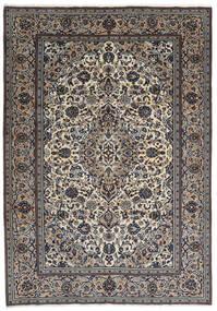 Keshan Χαλι 237X343 Ανατολής Χειροποιητο Σκούρο Γκρι/Ανοιχτό Γκρι (Μαλλί, Περσικά/Ιρανικά)