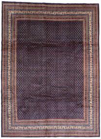 Sarough Mir Χαλι 268X365 Ανατολής Χειροποιητο Μαύρα/Σκούρο Μωβ Μεγαλα (Μαλλί, Περσικά/Ιρανικά)