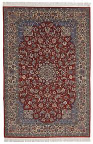 Isfahan Sherkat Farsh Χαλι 200X300 Ανατολής Χειροποιητο Σκούρο Κόκκινο/Σκούρο Καφέ (Μάλλινα/Μεταξωτά, Περσικά/Ιρανικά)