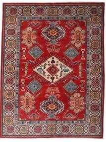 Kazak Χαλι 152X198 Ανατολής Χειροποιητο Σκούρο Κόκκινο/Σκούρο Καφέ (Μαλλί, Αφγανικά)