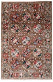 Kazak Χαλι 117X176 Ανατολής Χειροποιητο Σκούρο Κόκκινο/Σκούρο Καφέ (Μαλλί, Αφγανικά)