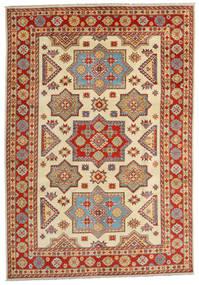 Kazak Χαλι 201X288 Ανατολής Χειροποιητο Ανοιχτό Καφέ/Στο Χρώμα Της Σκουριάς (Μαλλί, Αφγανικά)