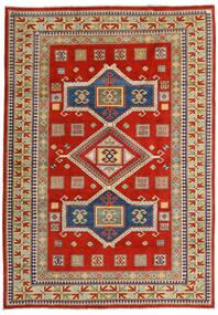 Kazak Χαλι 203X289 Ανατολής Χειροποιητο Στο Χρώμα Της Σκουριάς/Σκούρο Γκρι (Μαλλί, Αφγανικά)