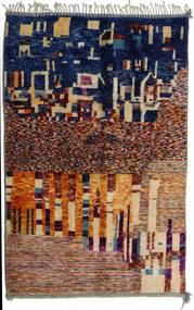 Berber Moroccan - Mid Atlas Χαλι 167X267 Σύγχρονα Χειροποιητο Μπεζ/Σκούρο Μπεζ (Μαλλί, Marocco)