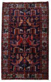 Hamadan Χαλι 131X213 Ανατολής Χειροποιητο Σκούρο Κόκκινο (Μαλλί, Περσικά/Ιρανικά)