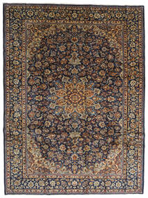 Najafabad Χαλι 275X367 Ανατολής Χειροποιητο Σκούρο Γκρι/Μαύρα Μεγαλα (Μαλλί, Περσικά/Ιρανικά)