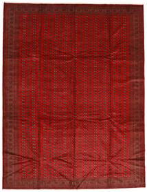 Turkaman Χαλι 302X388 Ανατολής Χειροποιητο Στο Χρώμα Της Σκουριάς/Σκούρο Κόκκινο Μεγαλα (Μαλλί, Περσικά/Ιρανικά)
