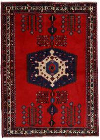 Afshar Χαλι 171X237 Ανατολής Χειροποιητο Σκούρο Κόκκινο/Στο Χρώμα Της Σκουριάς (Μαλλί, Περσικά/Ιρανικά)