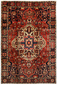 Bakhtiar Χαλι 214X316 Ανατολής Χειροποιητο Σκούρο Καφέ/Σκούρο Κόκκινο (Μαλλί, Περσικά/Ιρανικά)