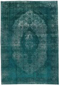 Βιντάζ Heritage Χαλι 235X336 Σύγχρονα Χειροποιητο Σκούρο Τυρκουάζ/Τυρκουάζ Μπλε (Μαλλί, Περσικά/Ιρανικά)