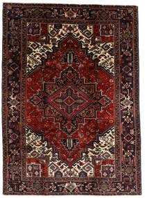 Heriz Χαλι 210X290 Ανατολής Χειροποιητο Σκούρο Καφέ/Σκούρο Κόκκινο (Μαλλί, Περσικά/Ιρανικά)