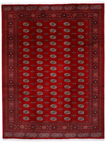 Pakistan Μπουχαρα 3Ply Χαλι 245X320 Ανατολής Χειροποιητο Σκούρο Κόκκινο/Kόκκινα (Μαλλί, Πακιστανικά)