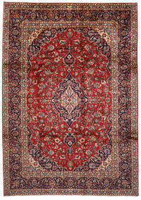 Keshan Χαλι 250X358 Ανατολής Χειροποιητο Σκούρο Κόκκινο/Σκούρο Μπλε Μεγαλα (Μαλλί, Περσικά/Ιρανικά)