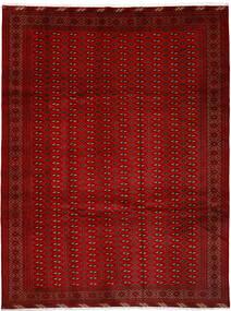 Turkaman Χαλι 252X337 Ανατολής Χειροποιητο Kόκκινα/Στο Χρώμα Της Σκουριάς Μεγαλα (Μαλλί, Περσικά/Ιρανικά)