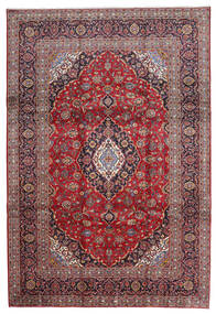 Keshan Χαλι 240X343 Ανατολής Χειροποιητο Σκούρο Κόκκινο/Ανοικτό Μωβ (Μαλλί, Περσικά/Ιρανικά)