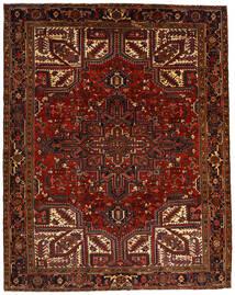 Heriz Χαλι 257X322 Ανατολής Χειροποιητο Σκούρο Κόκκινο/Σκούρο Καφέ Μεγαλα (Μαλλί, Περσικά/Ιρανικά)
