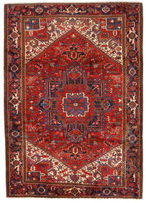 Heriz Χαλι 243X330 Ανατολής Χειροποιητο Σκούρο Κόκκινο/Στο Χρώμα Της Σκουριάς (Μαλλί, Περσικά/Ιρανικά)