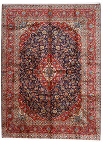 Keshan Χαλι 296X400 Ανατολής Χειροποιητο Σκούρο Κόκκινο/Σκούρο Μωβ Μεγαλα (Μαλλί, Περσικά/Ιρανικά)