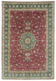 Tabriz 50 Raj Χαλι 245X362 Ανατολής Χειροποιητο Σκούρο Γκρι/Σκούρο Κόκκινο (Μαλλί, Περσικά/Ιρανικά)