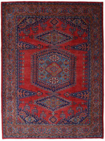 Wiss Χαλι 253X344 Ανατολής Χειροποιητο Σκούρο Κόκκινο/Σκούρο Μωβ Μεγαλα (Μαλλί, Περσικά/Ιρανικά)