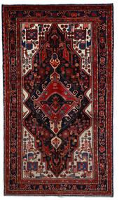 Hamadan Χαλι 164X289 Ανατολής Χειροποιητο Σκούρο Κόκκινο (Μαλλί, Περσικά/Ιρανικά)