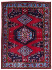 Wiss Χαλι 157X211 Ανατολής Χειροποιητο Σκούρο Κόκκινο/Σκούρο Μωβ (Μαλλί, Περσικά/Ιρανικά)