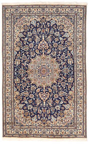 Nain Χαλι 155X250 Ανατολής Χειροποιητο Σκούρο Γκρι/Σκούρο Καφέ (Μαλλί, Περσικά/Ιρανικά)