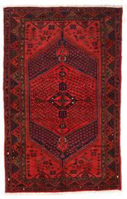 Zanjan Χαλι 126X205 Ανατολής Χειροποιητο Σκούρο Κόκκινο/Σκούρο Καφέ/Στο Χρώμα Της Σκουριάς (Μαλλί, Περσικά/Ιρανικά)