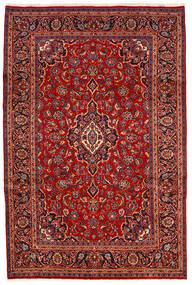 Keshan Χαλι 200X300 Ανατολής Χειροποιητο Σκούρο Κόκκινο/Στο Χρώμα Της Σκουριάς (Μαλλί, Περσικά/Ιρανικά)