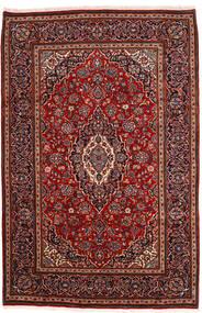 Keshan Χαλι 198X302 Ανατολής Χειροποιητο Σκούρο Κόκκινο (Μαλλί, Περσικά/Ιρανικά)