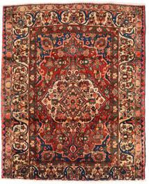 Bakhtiar Χαλι 174X214 Ανατολής Χειροποιητο Σκούρο Καφέ/Σκούρο Κόκκινο (Μαλλί, Περσικά/Ιρανικά)