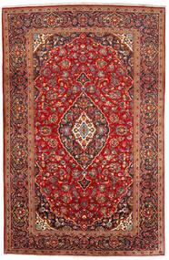 Keshan Χαλι 200X309 Ανατολής Χειροποιητο Σκούρο Κόκκινο/Στο Χρώμα Της Σκουριάς (Μαλλί, Περσικά/Ιρανικά)