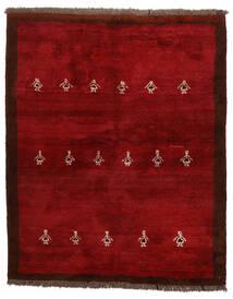 Γκάμπεθ Περσία Χαλι 155X190 Σύγχρονα Χειροποιητο Σκούρο Κόκκινο/Kόκκινα (Μαλλί, Περσικά/Ιρανικά)