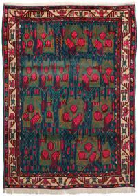 Afshar Χαλι 163X228 Ανατολής Χειροποιητο Σκούρο Κόκκινο/Σκούρο Μπλε/Σκούρο Τυρκουάζ (Μαλλί, Περσικά/Ιρανικά)