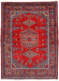 Wiss Χαλι 160X222 Ανατολής Χειροποιητο Στο Χρώμα Της Σκουριάς/Σκούρο Κόκκινο (Μαλλί, Περσικά/Ιρανικά)