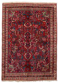 Bidjar Χαλι 155X209 Ανατολής Χειροποιητο Σκούρο Κόκκινο/Σκούρο Καφέ (Μαλλί, Περσικά/Ιρανικά)
