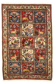Bakhtiar Collectible Χαλι 115X170 Ανατολής Χειροποιητο Σκούρο Καφέ/Λευκό/Κρεμ (Μαλλί, Περσικά/Ιρανικά)