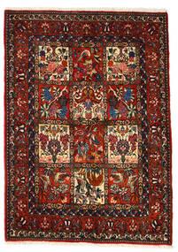 Bakhtiar Collectible Χαλι 106X150 Ανατολής Χειροποιητο Σκούρο Καφέ/Σκούρο Κόκκινο (Μαλλί, Περσικά/Ιρανικά)