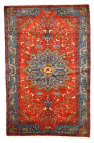 Nahavand Old Χαλι 158X246 Ανατολής Χειροποιητο Σκούρο Κόκκινο/Ανοιχτό Γκρι (Μαλλί, Περσικά/Ιρανικά)