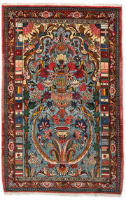 Bakhtiar Collectible Χαλι 103X158 Ανατολής Χειροποιητο Σκούρο Καφέ/Σκούρο Τυρκουάζ (Μαλλί, Περσικά/Ιρανικά)