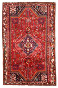 Shiraz Χαλι 171X272 Ανατολής Χειροποιητο Σκούρο Κόκκινο/Στο Χρώμα Της Σκουριάς (Μαλλί, Περσικά/Ιρανικά)