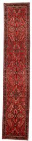 Lillian Χαλι 80X418 Ανατολής Χειροποιητο Χαλι Διαδρομοσ Σκούρο Κόκκινο/Σκούρο Καφέ/Στο Χρώμα Της Σκουριάς (Μαλλί, Περσικά/Ιρανικά)
