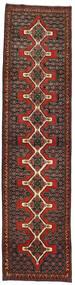 Senneh Χαλι 93X380 Ανατολής Χειροποιητο Χαλι Διαδρομοσ Σκούρο Κόκκινο/Σκούρο Καφέ (Μαλλί, Περσικά/Ιρανικά)