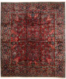 Sarough Χαλι 420X485 Ανατολής Χειροποιητο Σκούρο Κόκκινο/Σκούρο Καφέ Μεγαλα (Μαλλί, Περσικά/Ιρανικά)