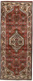 Hamadan Χαλι 80X194 Ανατολής Χειροποιητο Χαλι Διαδρομοσ Σκούρο Καφέ/Σκούρο Κόκκινο (Μαλλί, Περσικά/Ιρανικά)