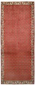 Sarough Mir Χαλι 79X197 Ανατολής Χειροποιητο Χαλι Διαδρομοσ Στο Χρώμα Της Σκουριάς/Σκούρο Καφέ (Μαλλί, Περσικά/Ιρανικά)