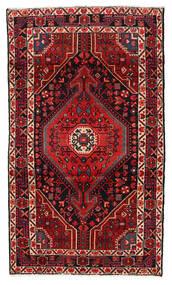 Hamadan Χαλι 115X199 Ανατολής Χειροποιητο Σκούρο Κόκκινο/Σκούρο Καφέ (Μαλλί, Περσικά/Ιρανικά)